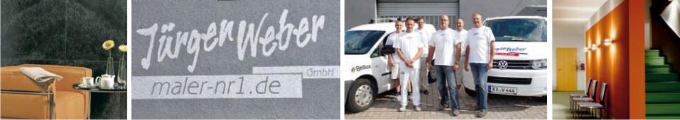 Jürgen Weber GmbH - Ihr Maler Nummer 1 – in Qualität und Preis